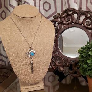 Jewelry - Sophia Butterfly Necklace by Sara Blaine